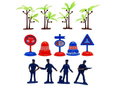 درختان , علامت ها و آدمک ها
