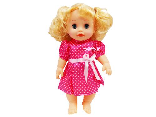 عروسک پیرهن خال خالی