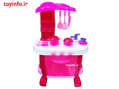آشپزخانه صورتی بزرگ , اسباب بازی دخترانه