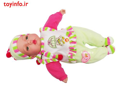 نوزاد چشم سبز