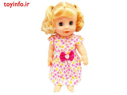 عروسک پیرهن گل گلی ، اسباب بازی دخترانه