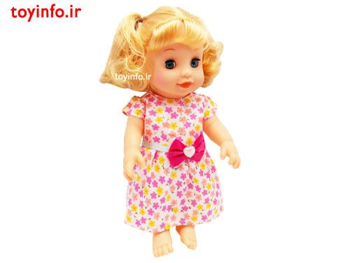 عروسک پیرهن گل گلی