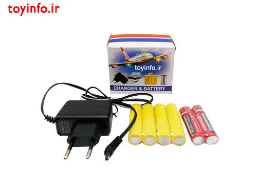 باتری ها و آداپتور