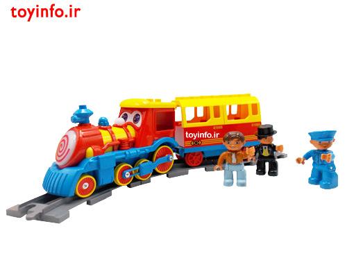 اسباب بازی قطار لگویی