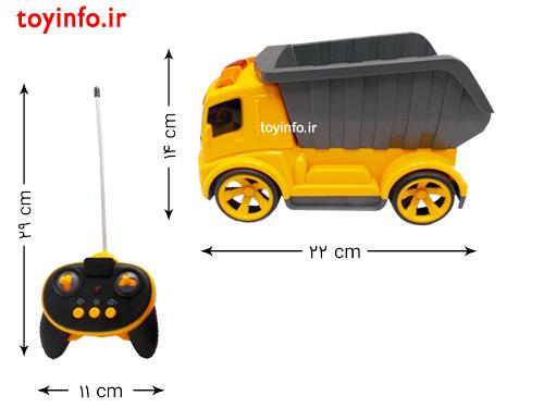 ابعاد کامیون و کنترل