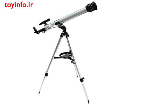 تلسکوپ با پایه های قابل تنظیم
