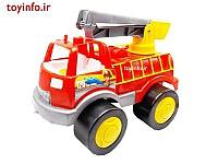 ماشین آتش نشانی قرمز