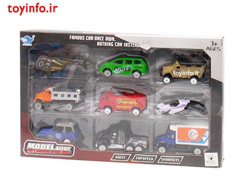 ست ماشین فلزی کوچک , ماشین اسباب بازی کوچک