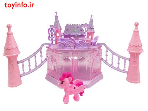 قصر پونی صورتی