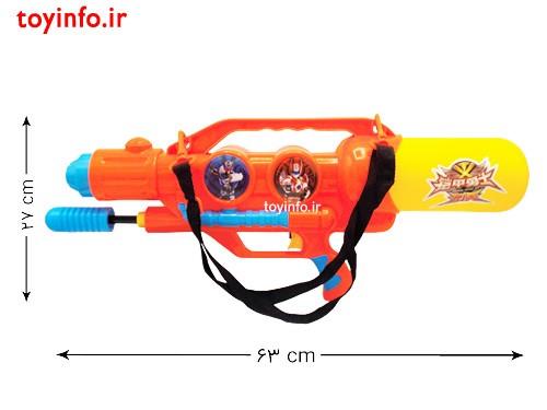 ابعاد تفنگ بازی