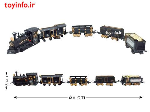 ابعاد قطار مشکی