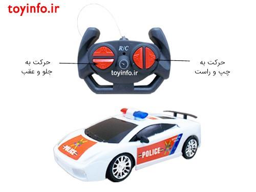 جزییات ماشین کنترلی پلیسی