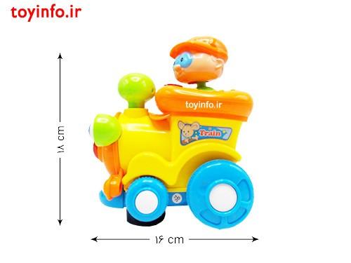 قطار موزیکال , اسباب بازی کودکان 18 ماهه