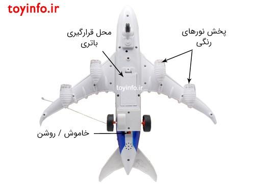 جزییات هواپیما