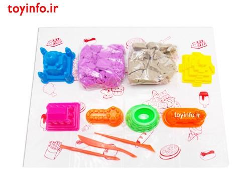 12 تکه شن جادویی ، اسباب بازی جذاب برای کودکان