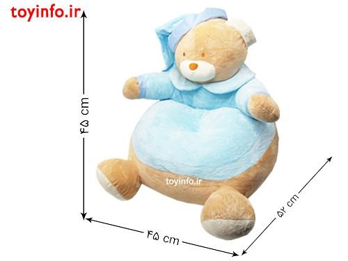 ابعاد مبل خرس پولیشی