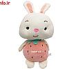 عروسک خرگوش میوه ای
