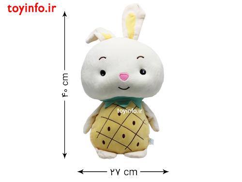 ابعاد عروسک خرگوش میوه ای