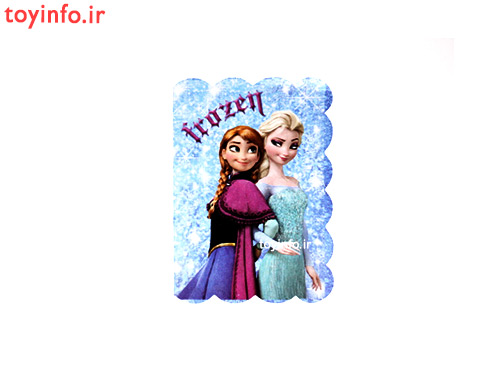 کارت پستال طرح آنا و السا مات