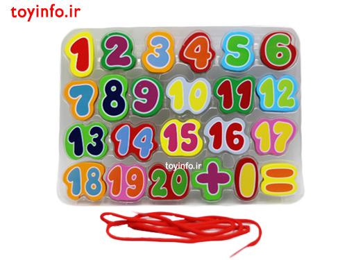 مهره های اعداد انگلیسی