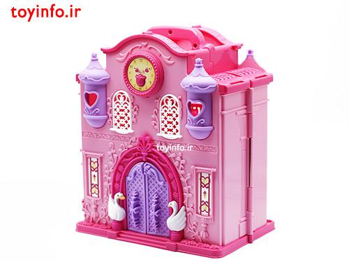 خانه عروسکی صورتی