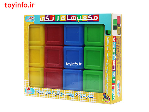 مکعب رنگی 12 عددی