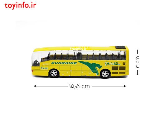 ابعاد اتوبوس هواپیما