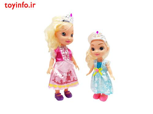 عروسک اسباب بازی تاج دار