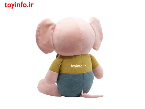 عروسک فیل دو بنده دار