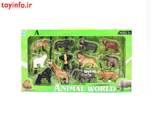 عروسک حیوانات جنگل