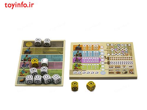 اجزا و قطعات بازی فکری و خانوادگی بازار تبریز