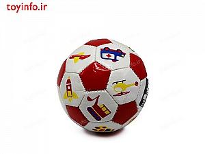 توپ فوتبال کوچک قرمز