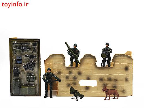 تجهیزات و قطعات مختلف اسباب بازی