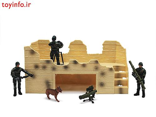 سرباز ها در حال نگهبانی  , اسباب بازی جدید پسرانه