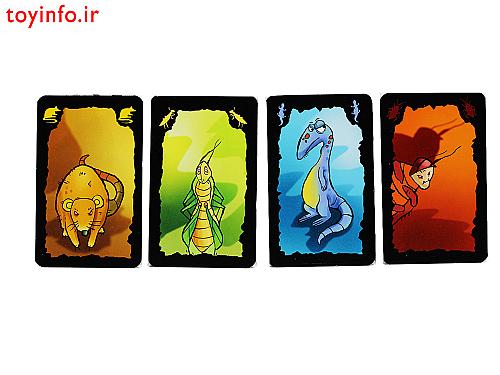 کارت های بازی فکری جذاب سوسکی
