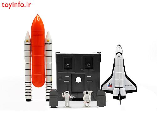 اسباب بازی شاتل فضایی فلزی