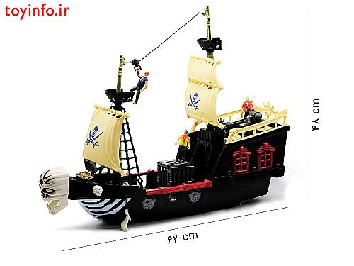 کشتی دزدان دریایی - ابعاد و اندازه