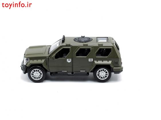 ماشین فلزی نظامی طوسی