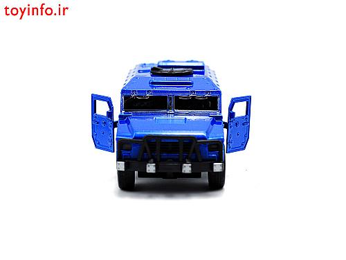 ماشین فلزی نظامی آبی , ماشین کوچک فلزی