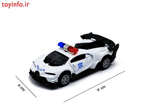 ابعاد ماشین بوگاتی پلیس
