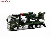 اسباب بازی تریلی حمل موشک ، تریلی فلزی