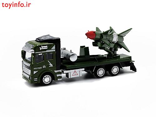 ابعاد تریلی حمل موشک