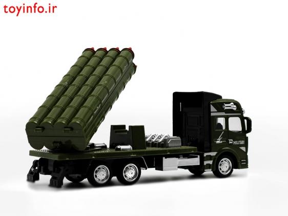 تریلی موشک انداز , ماشین های فلزی