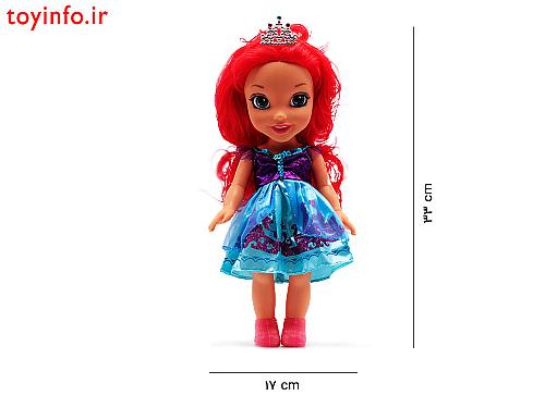 ابعاد عروسک فشن 003