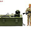 اسباب بازی تکاور با تجهیزات 001