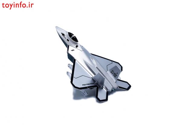 جنگنده F22 نقره ای
