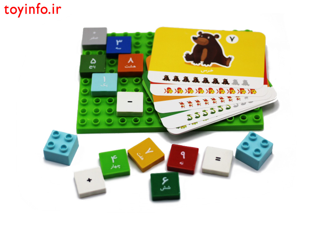بسته بندی بازی آموزش ریاضی
