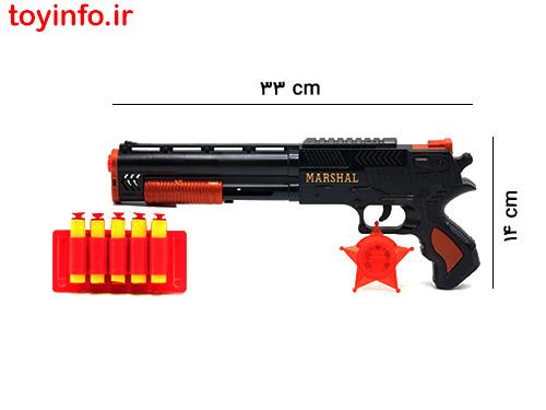 ابعاد تفنگ پلیس
