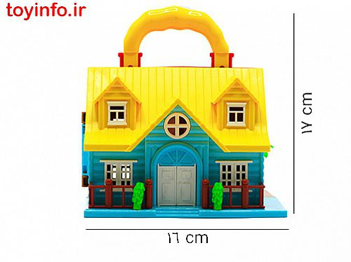 ابعاد خانه عروسکی کوچک