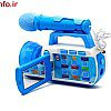 دوربین فیلمبرداری آبی
